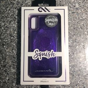 Case-Mate Squish case for iPhone X - purple